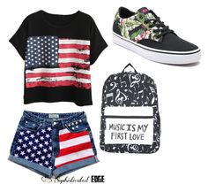 """so cool"" by twilightytb ❤ liked on Polyvore featuring Chicnova Fashion and Vans"