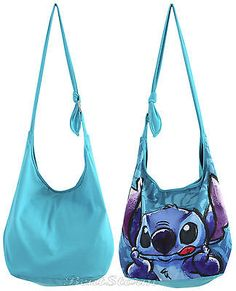 Disney Lilo and Stitch Sketch Hawaiian Crossbody Hobo Tote Bag ...