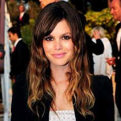 rachel bilson. she always has the best hair, makeup and clothes.