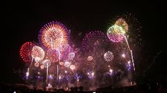 [HD 1080p] 世界一美しい日本の花火大会 fireworks Japan beautiful in the world/