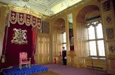 Garter Throne Room in Windsor Castle, UK