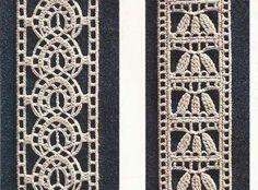 """Patrón #423: Encajes """"Minuciosos entredoses"""" a Crochet #ctejidas http://blgs.co/fyopLO"""