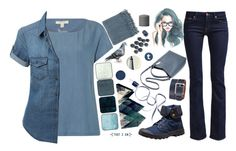 """Nordic sea"" by tanabeya ❤ liked on Polyvore featuring White Stuff, LE3NO, Surya, Dot & Bo, 7 For All Mankind, Bob's Your Uncle, Tommy Hilfiger, Deborah Rhodes, Essie and Palladium"