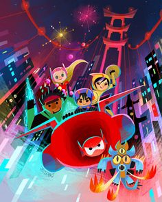 Joey Chou - Doing a Big Hero 6 art signing this June 20, 2015...