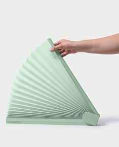 njustudio presents a pleated pop-up screen that brings privacy to open spaces Pop Up Screens, Coworking Space, Living Furniture, Design Firms, Outdoor Blanket, Mint, Lounge Furniture, Peppermint