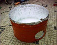 Nuno Mota: Construção de um forno a gás para alta temperatura Forno A Gas, O Gas, Pottery, Metals, Solar, Enamels, Ovens, Handmade Pottery, Instagram Ideas