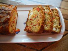 Cake chorizo poivron feta - Recette de cuisine Marmiton : une recette