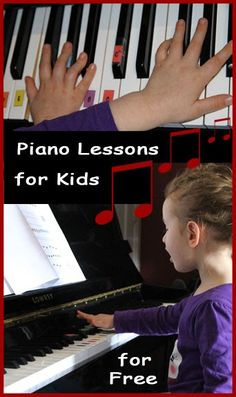 Piano Lessons - for FREE | Homeschooling Your Preschooler