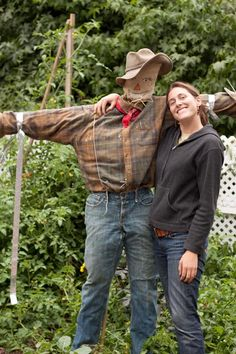 Scarecrows around the world. Come make a scarecrow with us on Saturday, October 15!