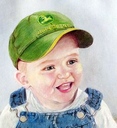 Custom Childrens portrait 8 x 10, Gift Idea, Colored Pencil Portrait Drawing, Child's Portrait Artist, Robin Zebley, Portrait from Photo