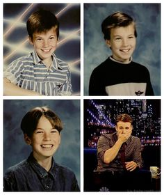 Chris Evans in 4th, 6th and 7th grade.