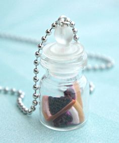 cheesecake in a jar necklace