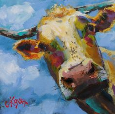 "Just sold a HUGE print of my ""Peek-a-Moo!""  Click here and check it out!  GREAT gifts for the holiday season!"