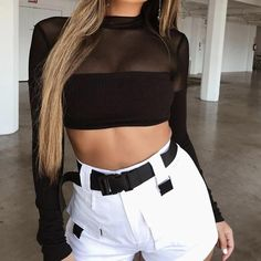 edgy outfits for guys Crop Top Outfits, Rave Outfits, Edgy Outfits, Night Outfits, Fashion Outfits, Fashion Trends, Wireless Festival Outfits, Music Festival Outfits, Style Casual