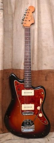 Here's a beautiful example of a 62 Jazzmaster. Great guitar! #musicians