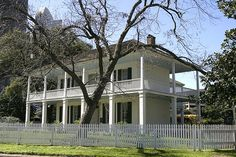 The 1847 Kellum-Noble House is the oldest surviving masonry house in Houston on its original site.