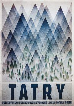 Ryszard Kaja, Polska - TATRY, 2015, Size: B1