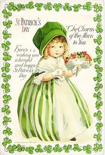 St. Patty's day girl printable, sweet.