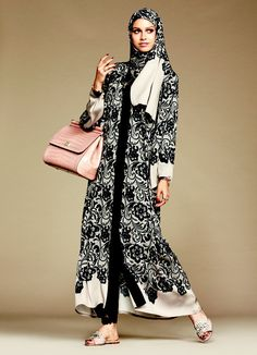 Pin for Later: Why the Internet Is Freaking Out Over Dolce & Gabbana's Hijab and Abaya Collection