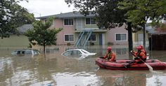In San Jose, swirling water and dramatic rescues #U_S_A_ #iNewsPhoto