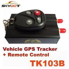 SKydot TK103B Vehicle GPS Tracker Audio Listening Devices Spy GSM GPRS Car Tracking Device Anti-theft Alarm System Locator Track