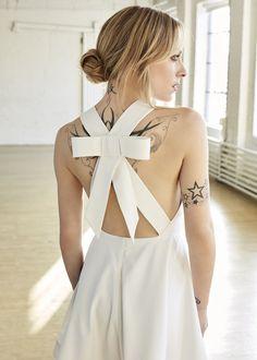 Ootd, Lady, Music Artists, Dream Wedding, Backless, Celebrities, Styles, Dresses, Tattoo