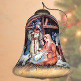 Nativity Manger Neqwa Ornament