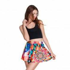 This stylish and comfy Designer skater skirt is a guaranteed head turner! With fun and funky patterns, prepare to receive compliments wherev...