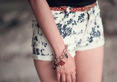 Shorts flowerpower.