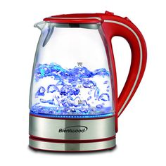 This cordless glass electric kettle is an excellent way to brew your water for any hot beverage or food.