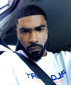 Craving more? Fine Black Men, Gorgeous Black Men, Beautiful Men Faces, Handsome Black Men, Black Boys, Fine Men, Dark Skin Men, Eye Candy Men, Man Candy