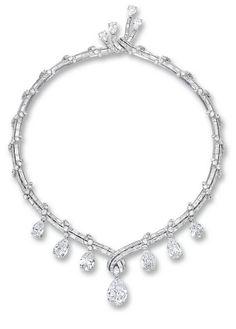 Tendance Joaillerie 2017   Fine Diamond Necklace Bulgari Circa 1950s | lot