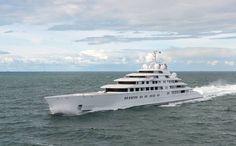 The world's biggest superyachts