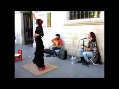 Artistas Callejeros De Sevilla España 2015 MP4