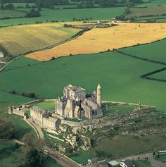 The famous Rock Of Cashel, County Tipperary, Ireland