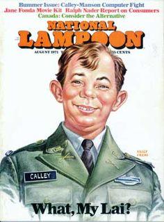 National Lampoon #17 - Aug 1971