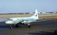 """North Central Airlines...these were the planes that served our city...our """"Blue Goose""""..."""