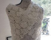Summer Leaves Handmade Crochet Shawl