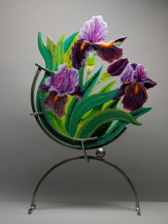 I can't pin all Anne Nye's fantastic glass, go to her web site to be amazed - www.annenye.com