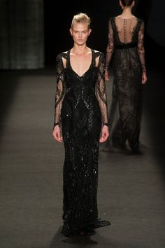 Monique Lhuillier fall/winter 2014 -15 New York