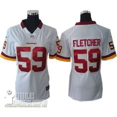Camisetas Nfl Baratas Mujer Fletcher Washington Rojoskins  59 Blanco €32.9  Gorras Planas 0873bf049e7d3