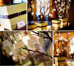 Memory Tree: I like the ones with crystals, but they would be harder to put into a book or box for keeping.