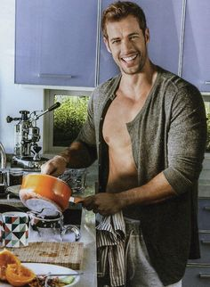 William Levy makes me breakfast