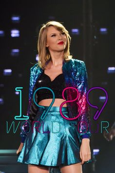 The 1989 world tour 2015 Only 150 days away till I will see her live in concert I'm hoping I get into Loft 89 it would be a dream come true!!