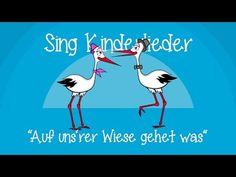 Auf unsrer Wiese gehet was - Kinderlieder zum Mitsingen | Sing Kinderlieder - YouTube