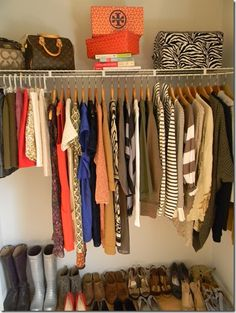 A Carrie Bradshaw-Approved Closet - awesome!!!