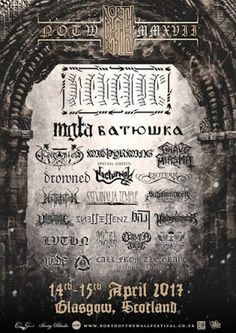 Long Live The Loud 666: NORTH OF THE WALL FESTIVAL 2017 WITH:REVENGE,MGLA,...