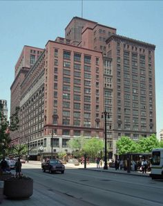 J.L. Hudson Company's flagship department store, Woodward Ave., Detroit, Michigan (prior to demolition in 1998).