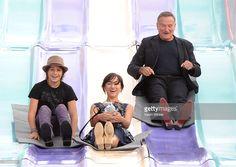 Milo Jacob Manheim, actress Zelda Williams and actor Robin Williams...