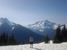 Alex on Goat Mountain 2013